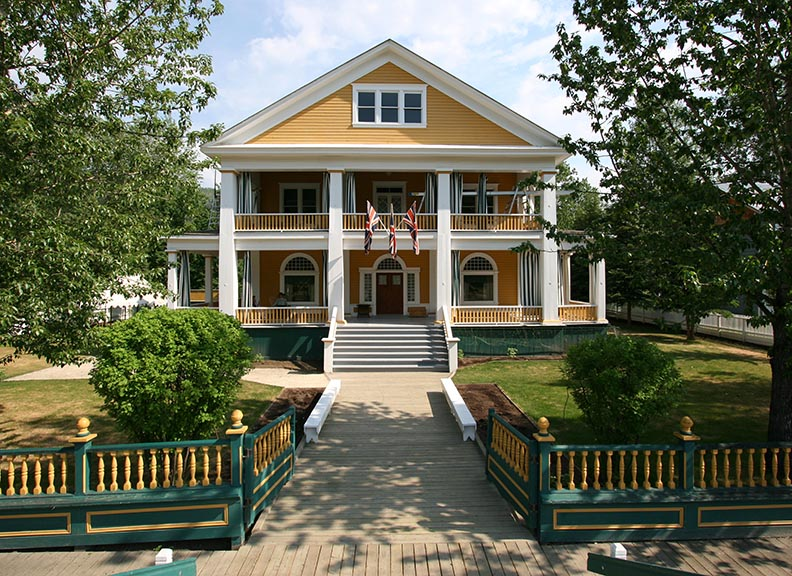 Commissioners Residence. Photo Credit Isabelle Chagnon.