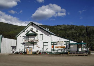 Gertie's exterior. Photo credit Yukon Convention Bureau.