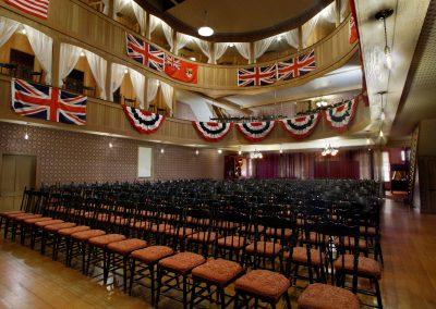 Palace Grand turnaround from stage. Photo credit Yukon Convention Bureau.