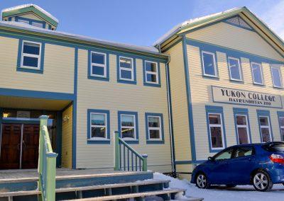 Yukon College. Photo credit Evelyn Pollock.