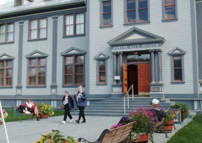 Dawson City Museum.
