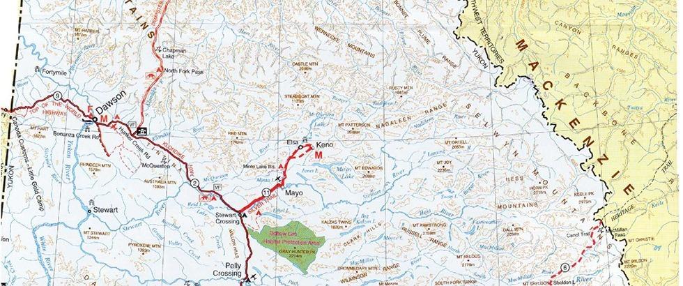 Maps DawsonCityca