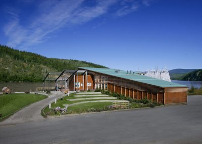 Danoja Zho Cultural Centre. Photo credit Yukon Convention Bureau.