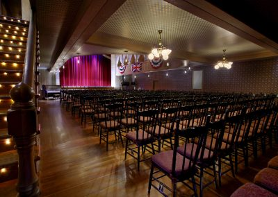 Palace Grand main seating. Photo credit Yukon Convention Bureau.