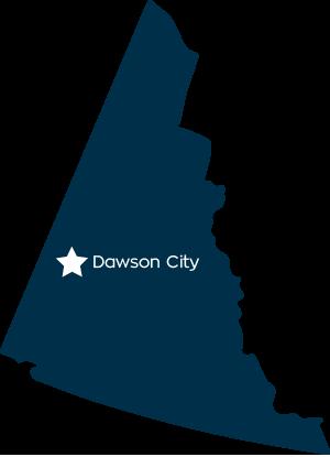 Dawson City Yukon   Home of the Klon Gold Rush on