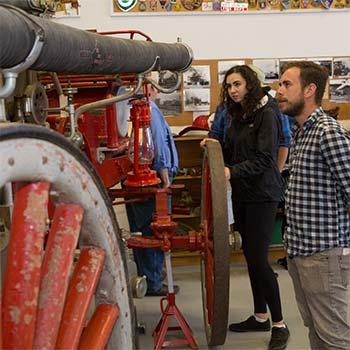 dawson city fire fighter museum