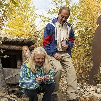 Find geocaches in Dawson City