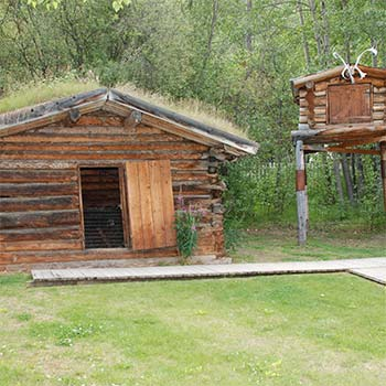 Jack London museum and cabin