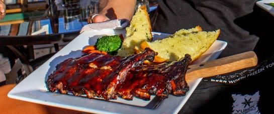 ribs at aurora inn restaurant