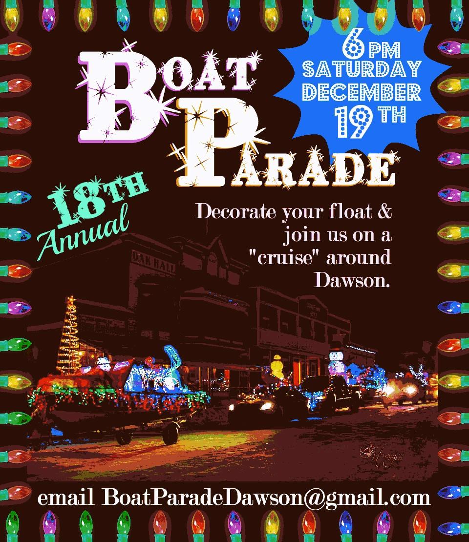 Annual Dawson City Boat Parade
