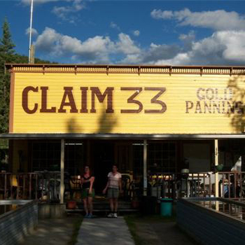 Claim 33 Gold Panning Dawson City