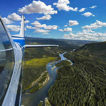 Great River Air Airplane Dawson City