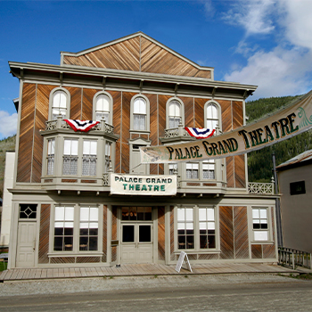 Palace Grand Theatre Dawson City Yukon Parks Canada Event Space Attraction