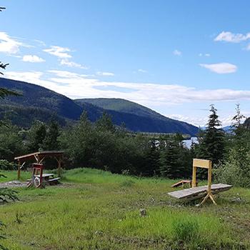 Dawson City dog park