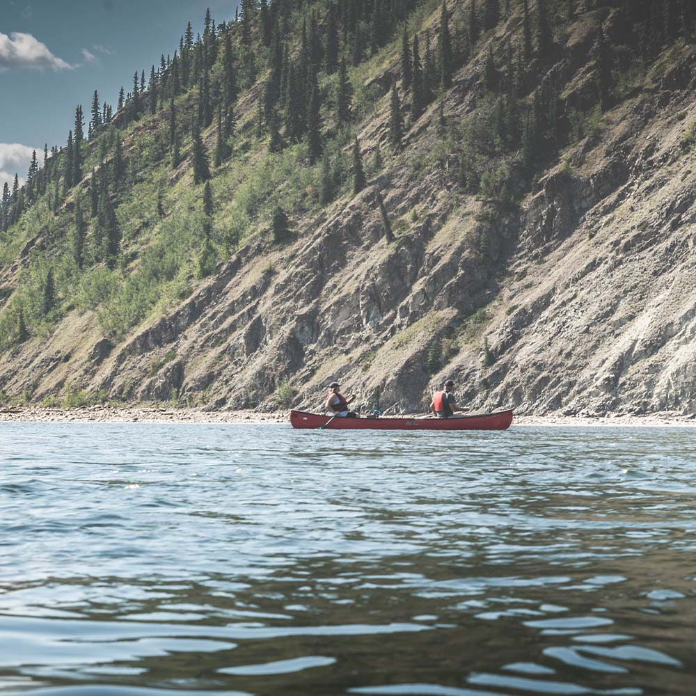 Canoe the Yukon River in Dawson City Yukon