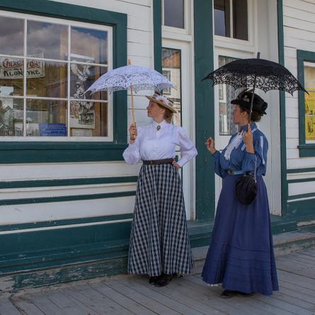 Dawson City Park Canada Francophone