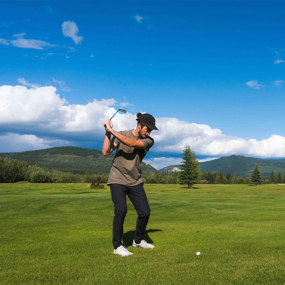 Golf Under the Midnight Sun in Dawson City, Yukon
