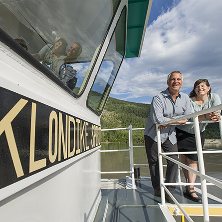 Dawson City Klondike Spirit Paddle Wheel