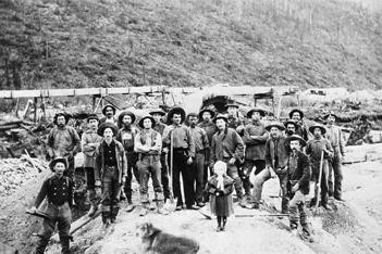 Klondike Gold Rush Miners Discover Dawson City
