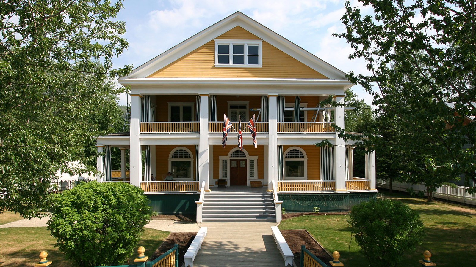 The Commissioner's Residence in Dawson City