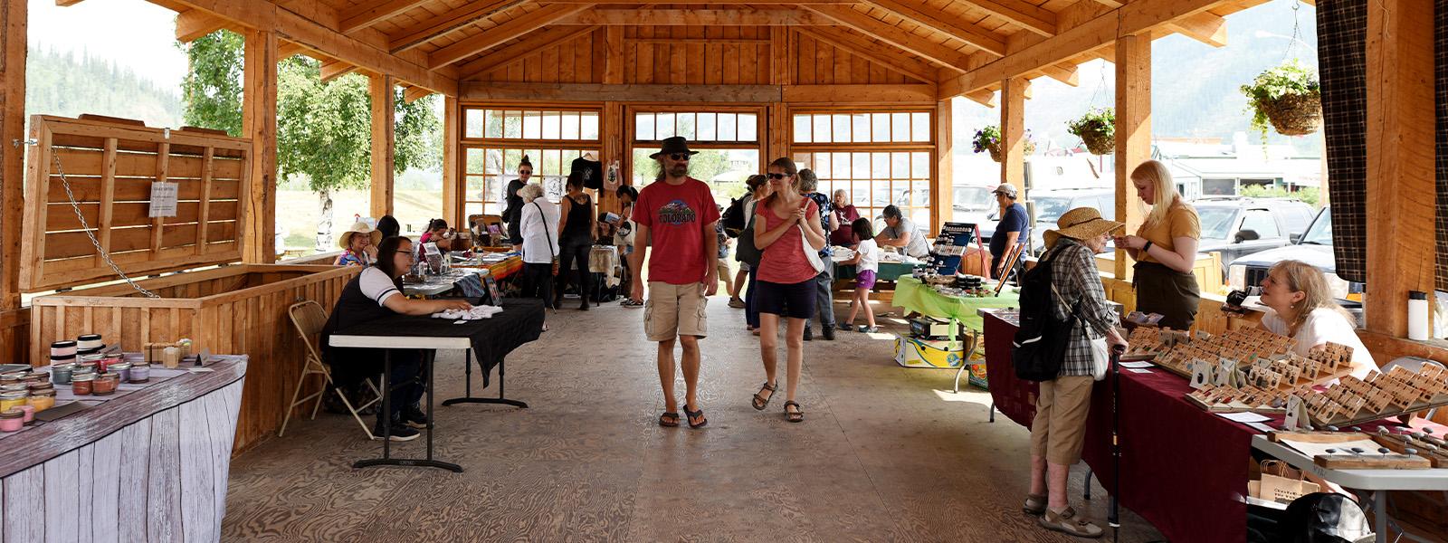 Artist's Market in Dawson City